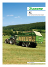 Forage and Discharge Wagon AX- Brochure