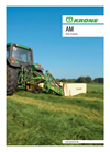 Model AM-S / AM-CV - Rear-Mounted Disc Mowers Brochure