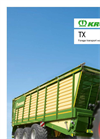 Model TX - Forage Transport Wagon Brochure