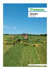 Swadro - Model 700 Plus, 800/26 Plus, 900 Plus - Twin Rotor Rakes Brochure