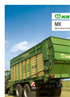 Model MX - Forage and Discharge Wagon Brochure