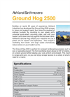 Ground Hog - Model 25CS - Track Loader Scraper Brochure
