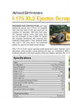 Model 110XL2 - Ejector Scraper Brochure