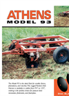 Model 93 - Pull-Type Disc Harrows Brochure