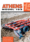 Model 153 - Pull-Type Disc Harrows Brochure