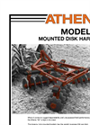 Athens - Model 55 - Mounted Disk Harrow - Brochure