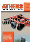 Athens - Model 62 - Tandem Disk Harrow - Brochure