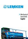 Saphir - Model 7 - Seed Drill Brochure