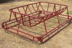Model 160.DCF - Double Cradle Hay Feeder