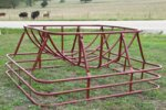 Model 161.SCF - Single Cradle Hay Feeder