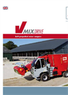 Drive Maximus Plus - Model V-MIX - Self-Propelled Mixer Wagon Brochure