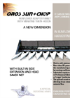OROS Sun - Sunflower Adapter Family With Vibrating Trays - Hoods - Catalogue