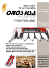 OROS - Model HSA Series - Corn Harvester Headers - Catalogue