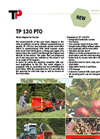 Model TP 130 PTO - 13 cm Wood Chipper Brochure