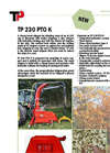 Model TP 230 PTO K - Wood Chipper Brochure