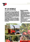 Model TP 130 - Mobile Wood Chipper- Brochure