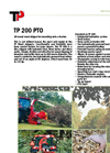 Model TP 200 PTO - Park Wood Chipper Brochure