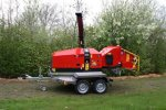 Model TP 215 - Mobile Wood Chipper