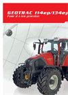 GEOTRAC Tractor 134ep- Brochure