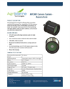 Model AVCAM - Aquaculture Camera System Brochure