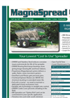 Model 00MS1416 - Tandem Axle Fertilizer Lime Spreader Brochure