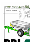 Cricket - Model 00CV - Vineyard Spreader Brochure