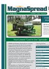 MagnaSpread - Model 00MS08 - Single Axle Fertilizer Lime Spreader Brochure
