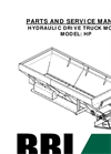 Model 00ETH - Endurance Truck Mount Hydraulic Spreader Manual