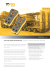 Tyro Sedna - Model 2F/4F - Robust and Compact Remote Control Transmitters Brochure