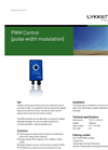 Control System-PWM Series Brochure