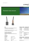 Standard Reed Sensor Brochure