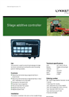 Silage Additive Controller Brochure