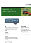 Model PX Combi 815 - Lawn Mower Monitor Brochure