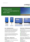 Model Winter Control series - Control Systems Brochure