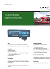 Tramline - Model PX Combi 830 - Seed Drill Machines Monitor Brochure