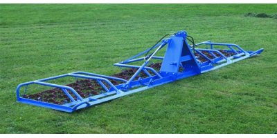 Double Servomotor Grassland Harrow