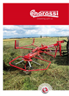 Vortex - Model G2V - G4V - G6V - Hay Tedder - Brochure