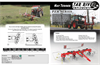 Model PZR Series - Tar River Hay Tedder - Datasheet