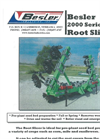 Model 2000 - Root Slicer Brochure