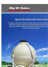 Ball Tank Trailers - 530 Gallon Brochure