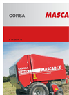 Model Corsa - Round Baler- Brochure