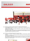 Galileo - Row Crop Cultivator with Hydraulic Foldable Frame Brochure