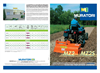 Muratori - Model EZ-EZX - Rotary Hoe for Hobby Farming Brochure
