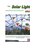 Solar Light Commercial Greenhouse Brochure