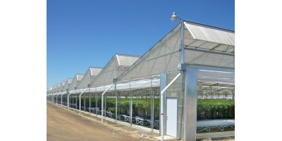 Agra Tech - Commercial Greenhouse Sawtooth