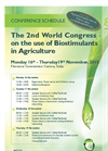 The 2nd World Congress on the Use of Biostimulants in Agriculture - 2015 - Conference Schedule