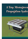 Three-Tray Propagation Systems Brochure