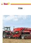 Tume Titan - Model 3000 and 400 - Dual Disc Drill Brochure