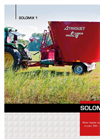 Solomix - Model 1 VLH-K - Mixer Feeder Wagon Brochure