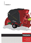 Triomix - Model P - Mixer Feeder Wagon Brochure